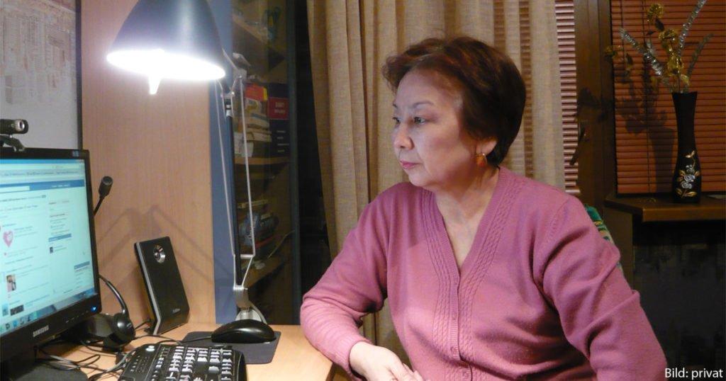 Dina Buleschewa setzt sich seit Langem für die Rechte der Oralmanen ein.