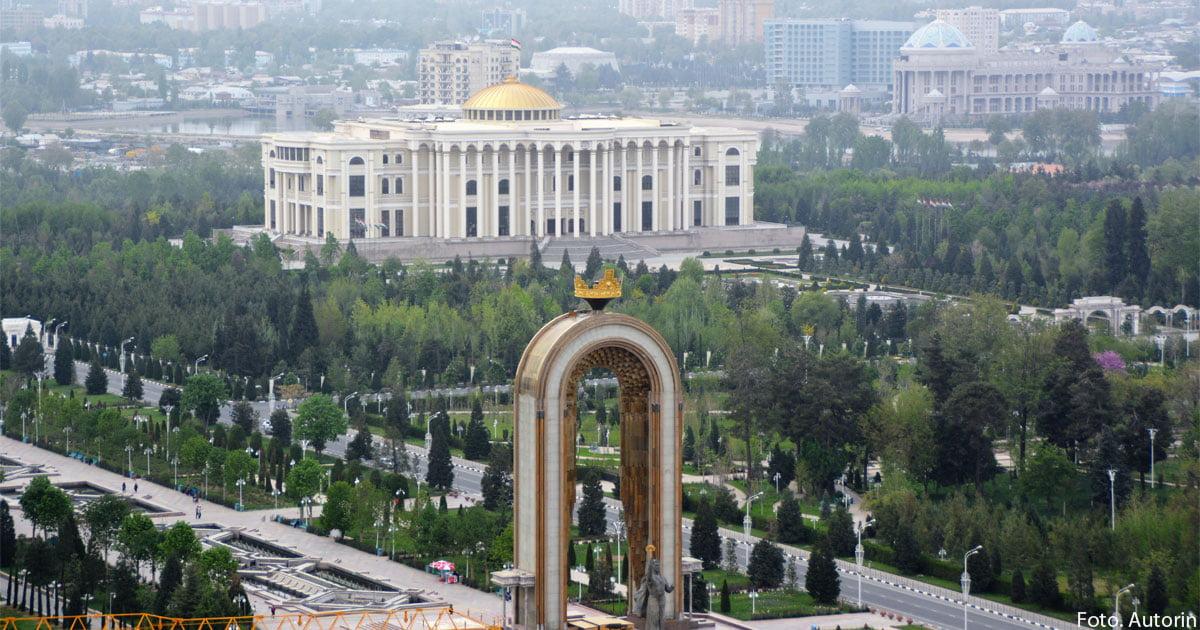 Blick auf Duschanbe.