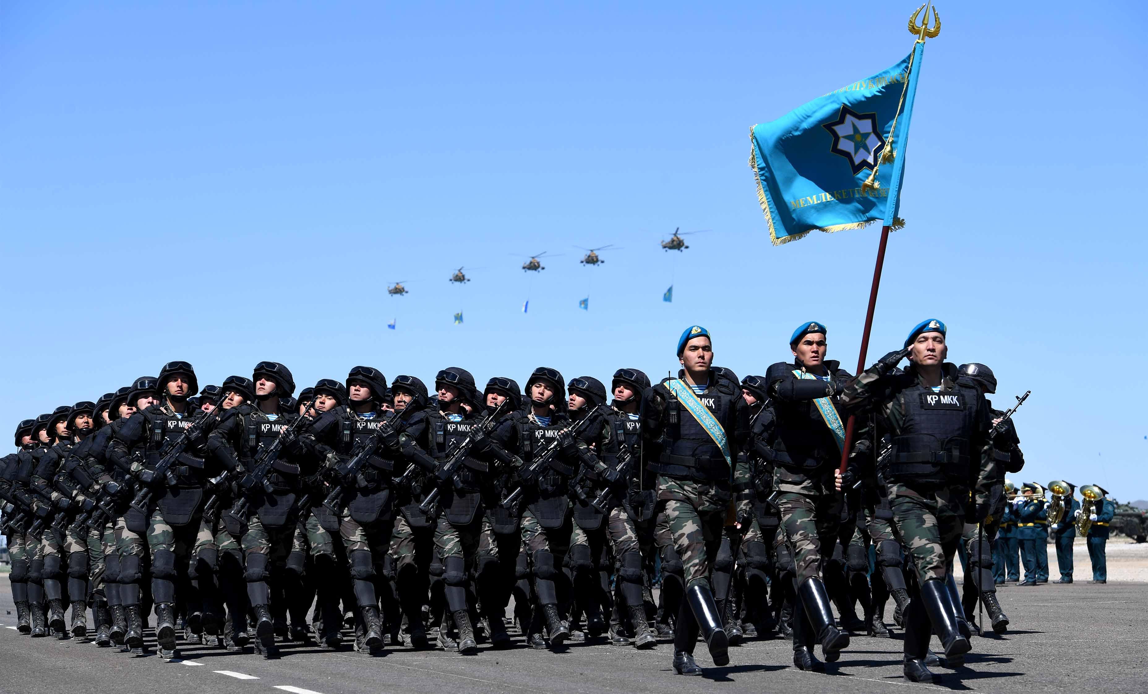 Die kasachische Armee hat eine neue Spezialeinheit zur Abwehr von Cyberattacken