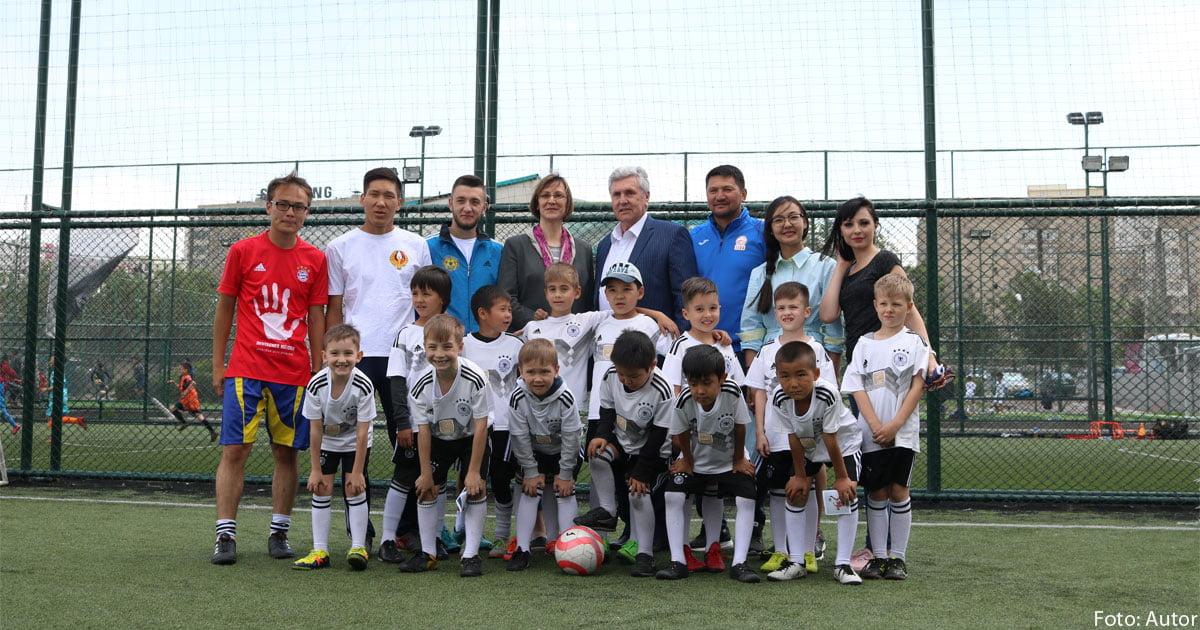 Fußballschule Kirgisistan