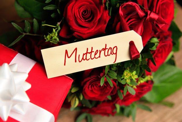 An jedem 2. Sonntag im Mai ist Muttertag.
