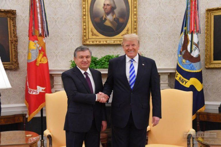 Trump trifft Mirsijojew