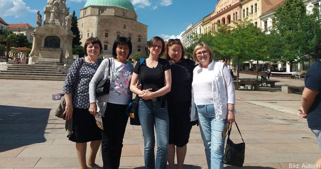 Während des einwöchigen Seminars hatten die Teilnehmerinnen auch Gelegenheit, Fünfkirchen kennenzulernen.