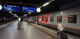 Nachtzug Paris-Karlsruhe-Moskau