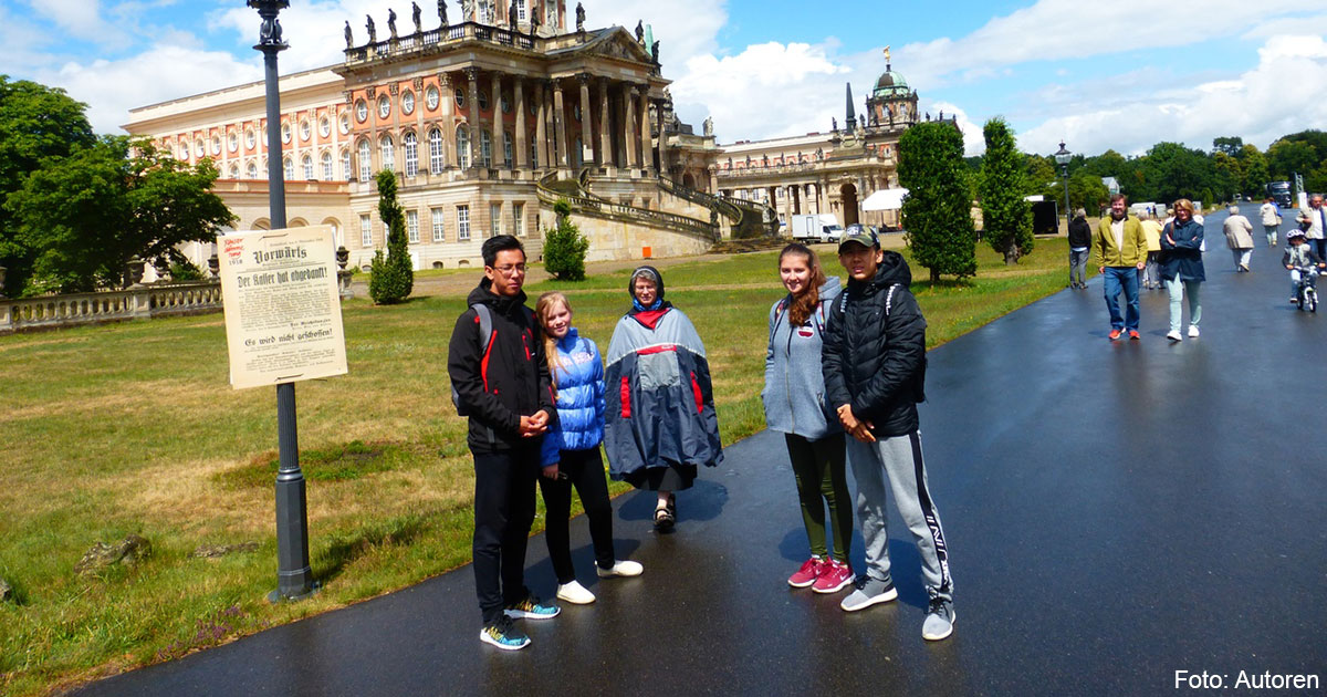 Schüler aus Kasachstan in Deutschland