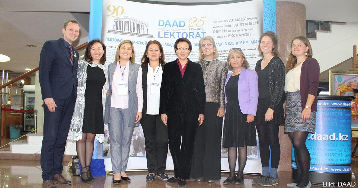 25 Jahre DAAD-Lektorat an der Abai.