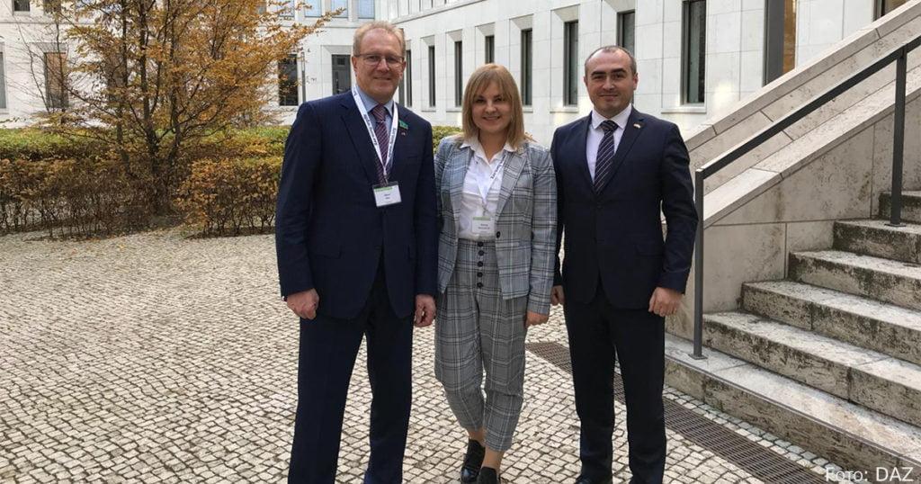 Albert Rau, Maria Borisjewitsch und Dmitry Redler