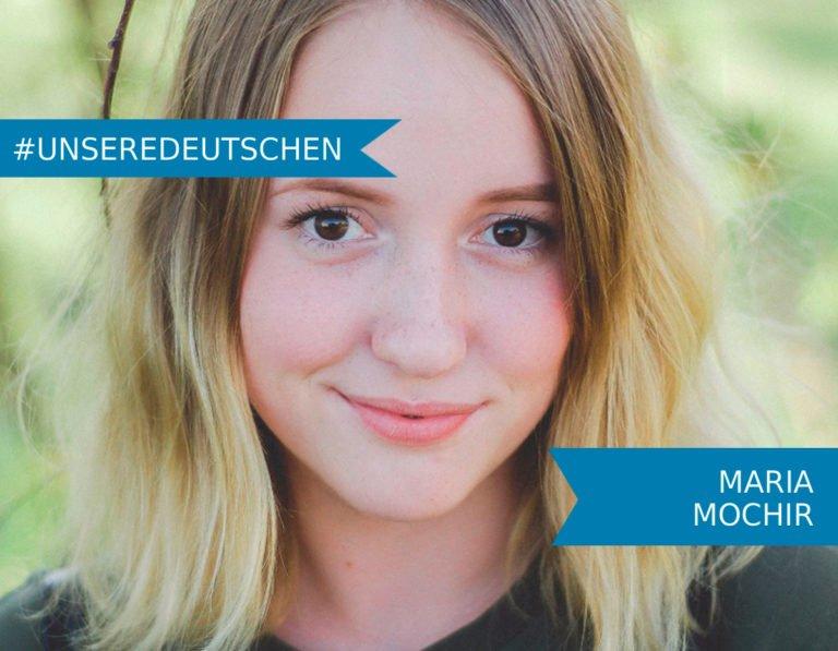 Unsere Deutschen: Maria Mochir – Schwimmerin