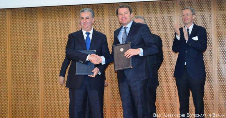 Deutsch-Usbekisches Business-Forum: Vereinbarungen über vier Milliarden US-Dollar unterzeichnet
