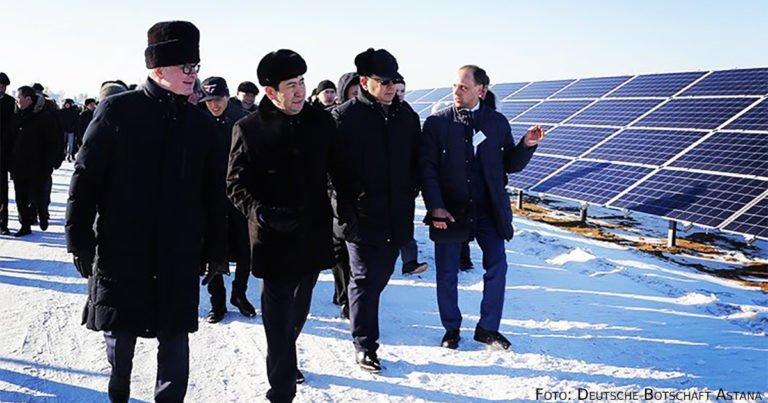 Größte Solaranlage Zentralasiens eröffnet