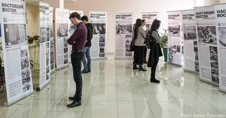 Voll der Osten: Ausstellung in Almaty zeigt Leben in der DDR