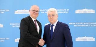 Deutschland und Kasachstan bekräftigen Kooperation