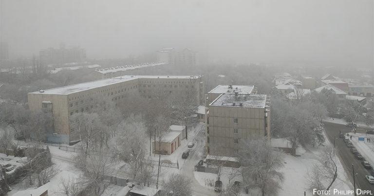 Almaty und sein Wetter