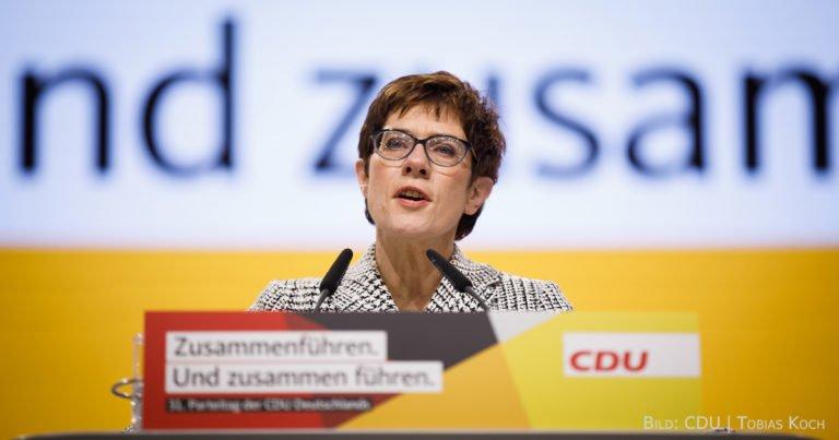 """""""Ich habe einen klaren Plan, wie ich die CDU zu neuer Stärke führen will"""""""