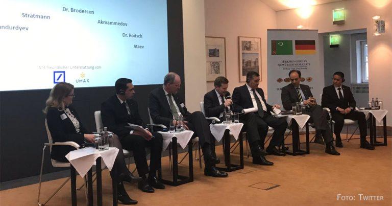 Auf der Suche nach Investitionen: Deutsch-Turkmenisches Businessforum in Berlin