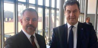 Bundesbeauftragter Fabritius dankt dem bayrischen Ministerpräsidenten Markus Söder für dessen Einsatz für die Spätaussiedler