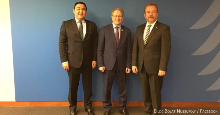 Parlamentsdelegation aus Kasachstan in Deutschland