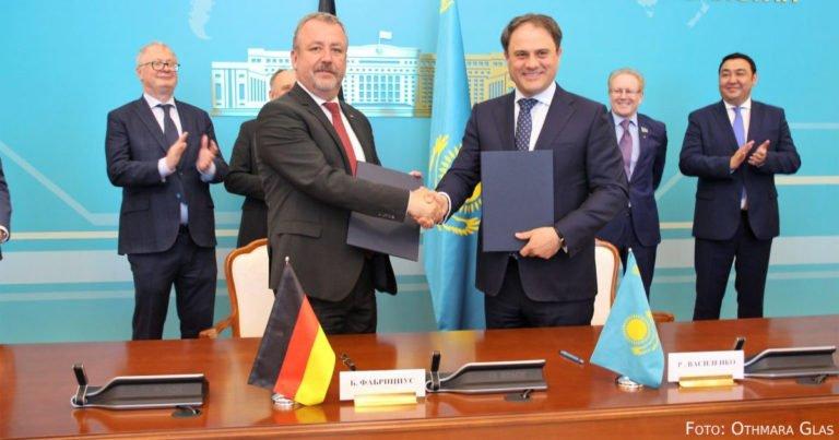 Deutsch-Kasachische Regierungskommission in Nur-Sultan zusammengekommen