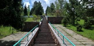 Treppe der Gesundheit