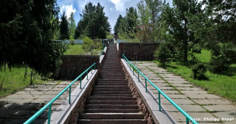 Die Treppe der Gesundheit