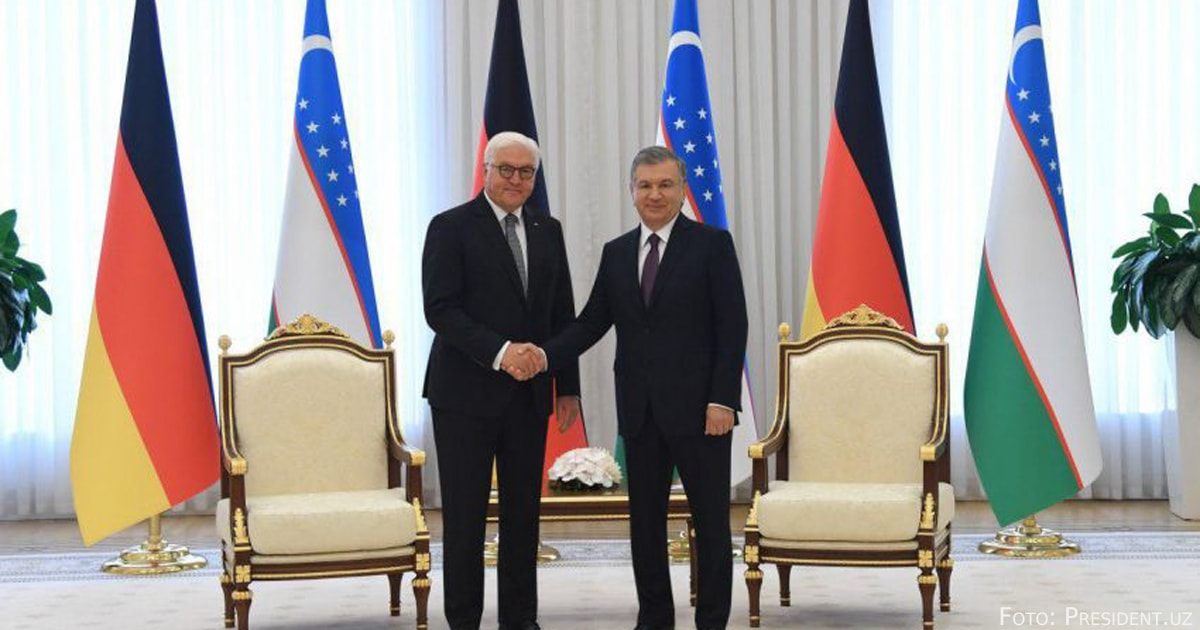 Steinmeier Usbekistan