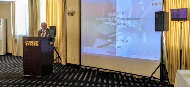 Neues CASIB-Büro in Almaty sagt dem Klimawandel den Kampf an