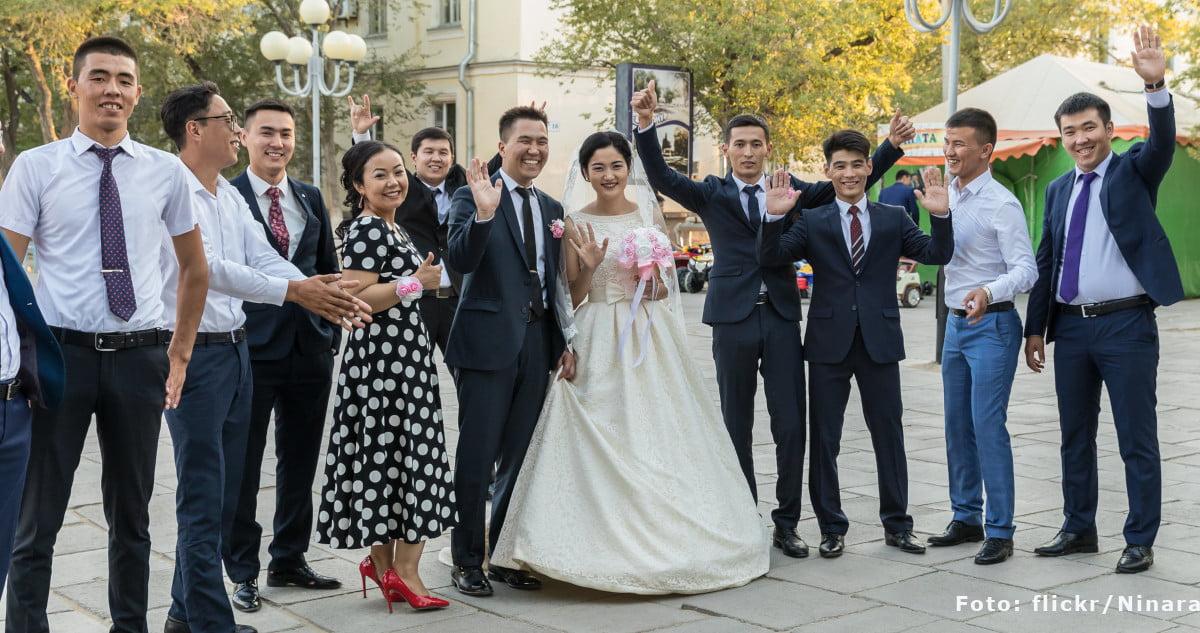 Kasachische Hochzeit