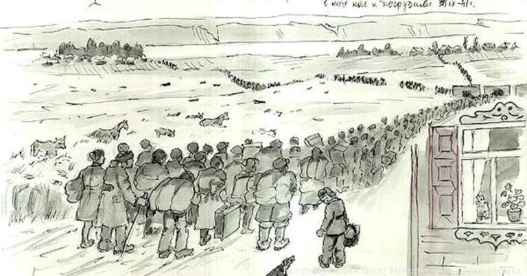 Ende der Wolgarepublik: Deportation 1941 und Auflösung der ASSRdWD