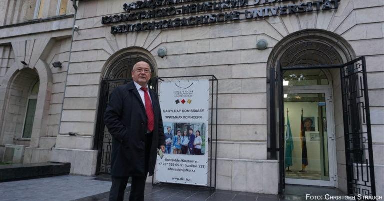 Präsident Ungvári will DKU im Jubiläumsjahr bekannter machen
