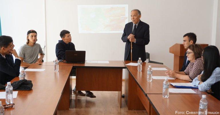 Deutsch-kasachische Forschungsgruppe erkundet Aralkum-Wüste