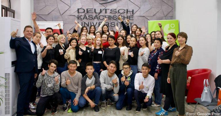 Start der PASCH-Alumni-Gemeinschaft Kasachstan und Kirgisistan in Almaty