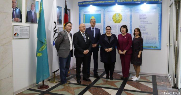 DKU vertieft internationale Zusammenarbeit