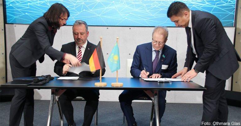 Gründung eines Kasachisch-Deutschen Zentrums in Nur-Sultan