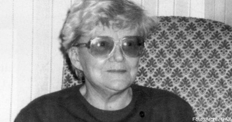 Nora Pfeffer – Würdigung zum 100. Geburtstag