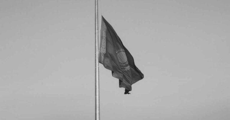 Tag der Trauer in Kasachstan