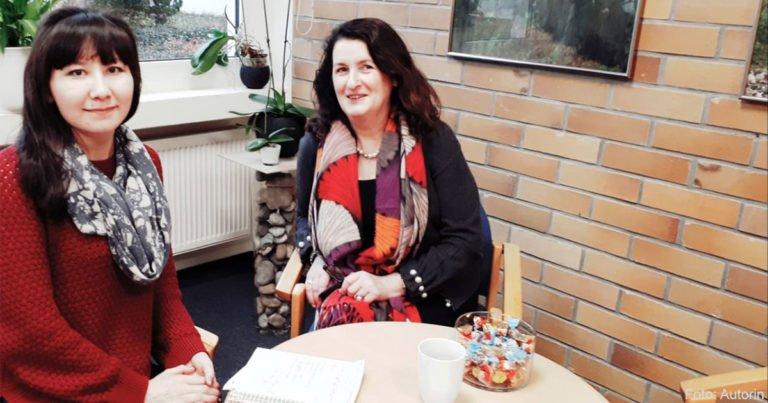 Lehrerin zur Hospitation in Deutschland