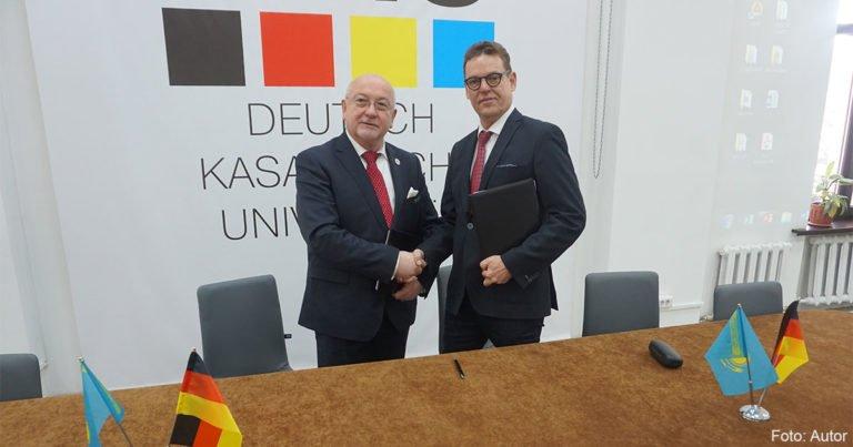 DKU und ZfA unterschreiben Memorandum über Zusammenarbeit