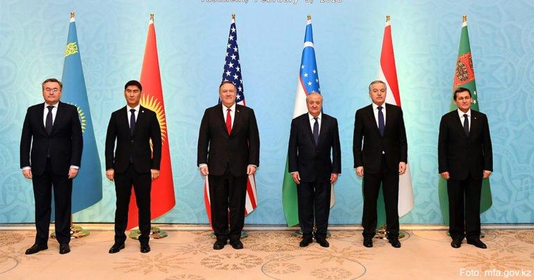 Zentralasien und USA koordinieren sich