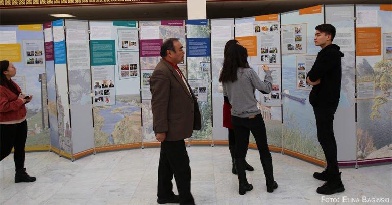 AGDM-Wanderausstellung in Nur-Sultan