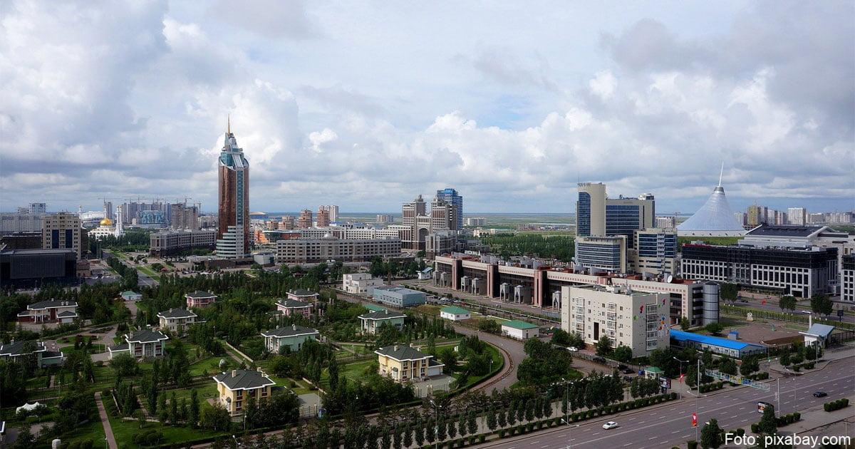 Aufnahme von Nur-Sultan