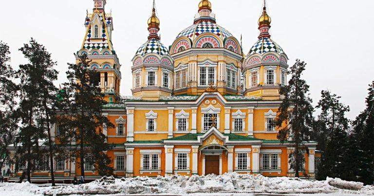 Almatys Zentrum des orthodoxen Lebens