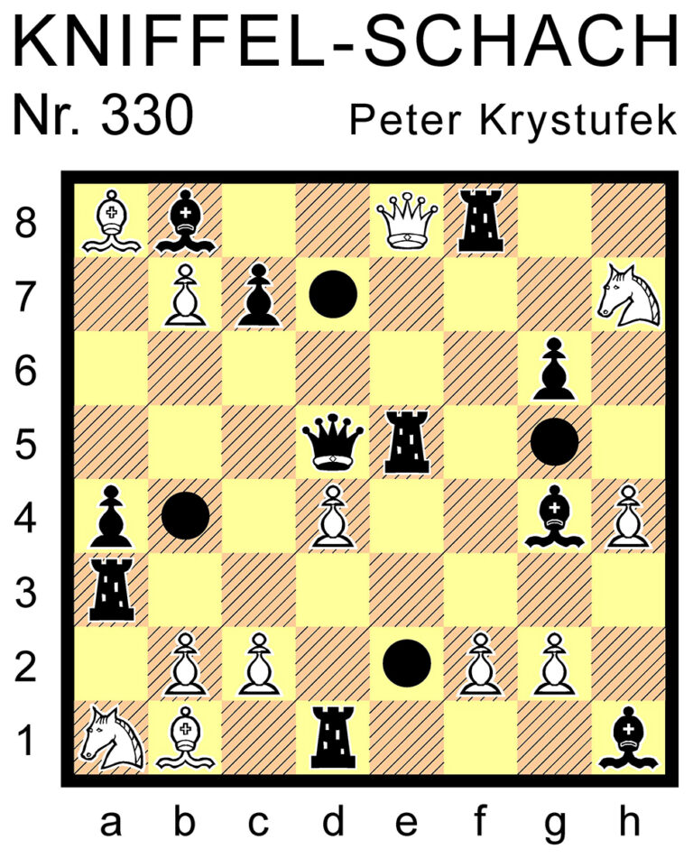 Kniffel-Schach Nr. 330