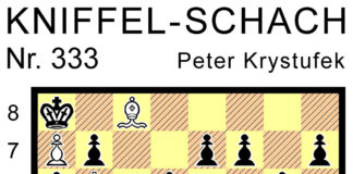 Kniffel-Schach Nr. 333