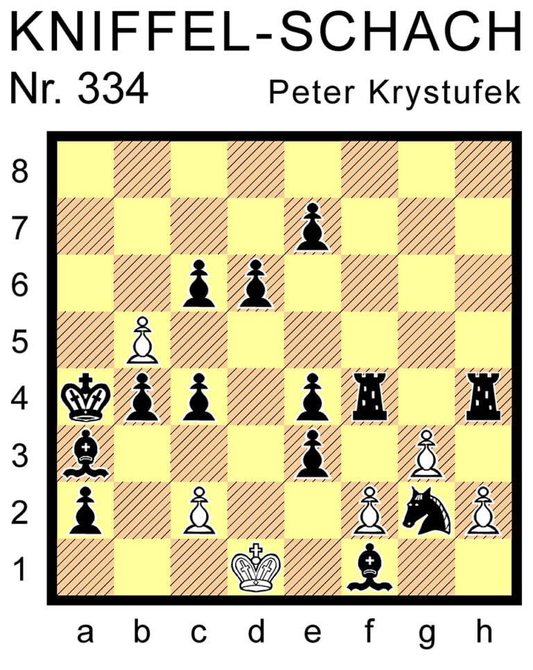 Kniffel-Schach Nr. 334