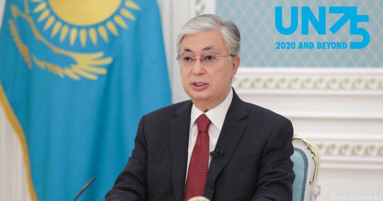 Tokajew zum 75-jährigen Gründungsjubiläum der VN
