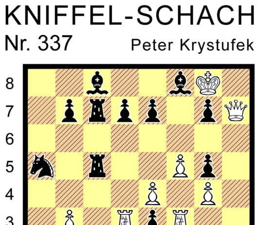 Kniffel-Schach Nr. 337