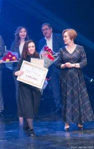 """Verleihung der Prämie """"Sachnager"""". Astana, 2018."""
