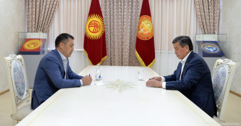 Scheenbekow bestätigt Schaparow nicht als Regierungschef