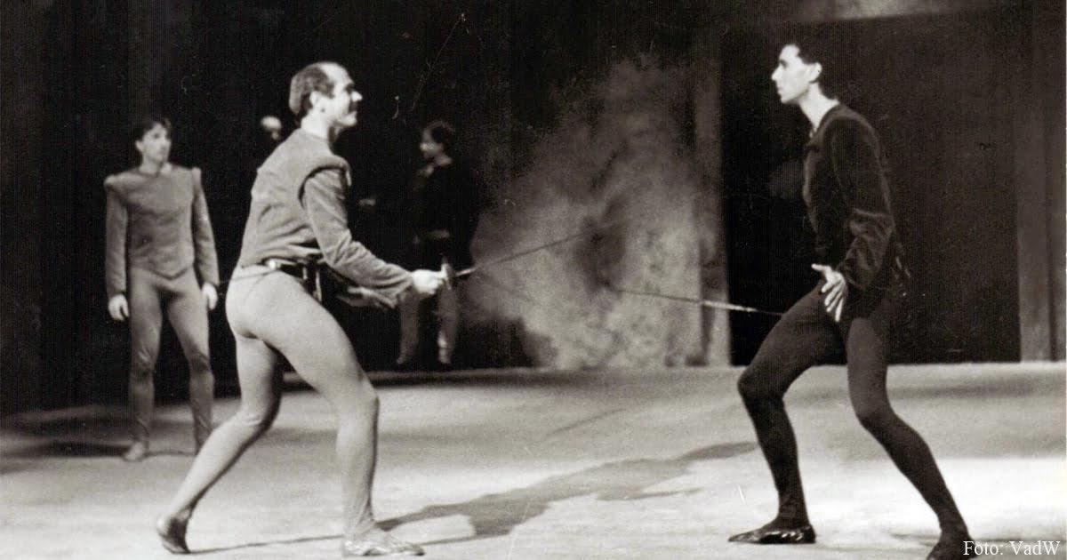 """In der Rolle von Tybalt in """"Romeo und Julia"""""""