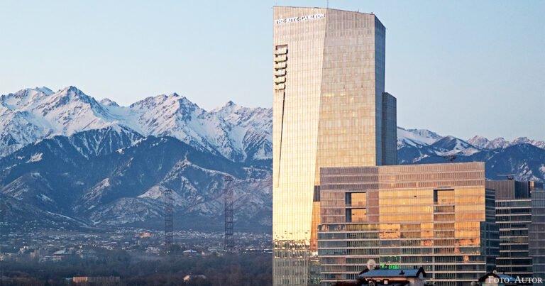 Hoch hinaus mit dem Ritz-Carlton im Esentai Tower